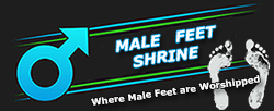 Male Feet Shrine - Place for Hot Male Feet
